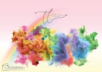 Smoke bombs_rainbow pink