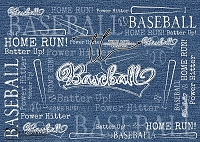 Power Hitter Denim Blue