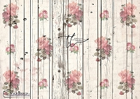 Shabby Rose Cream wood boards