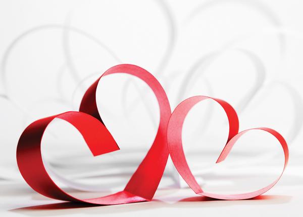valentine backdrop