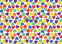 Rainbow of Hearts 1