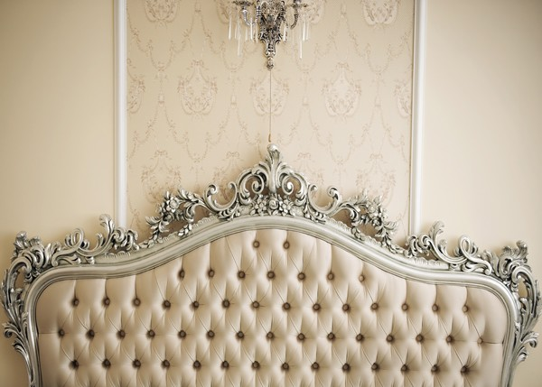 Luxury Headboard Cream