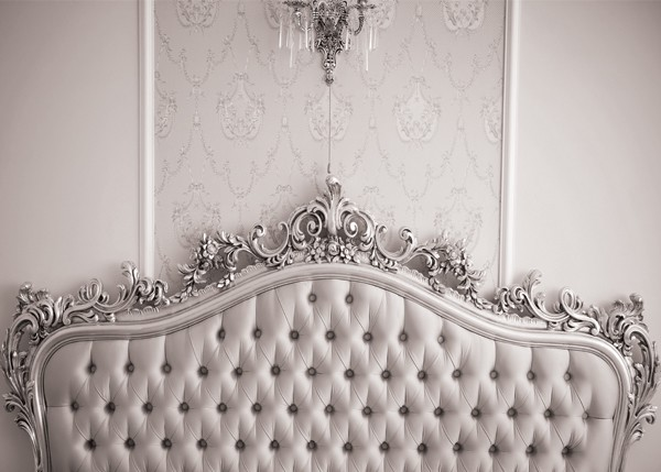 Luxury Headboard Gray