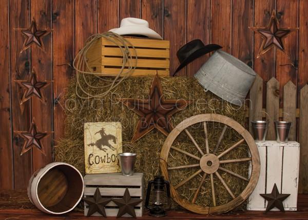 Cowboy Backdrop