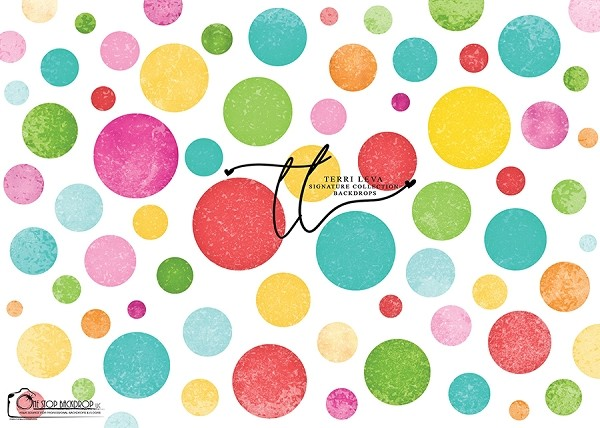 Colorful Random Dots 4 - Susan's Dots